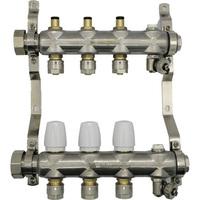 1 1/4寸竹节不锈钢分集水器内置阀芯